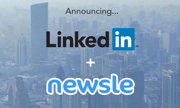 LinkedIn Akuisisi Newsle