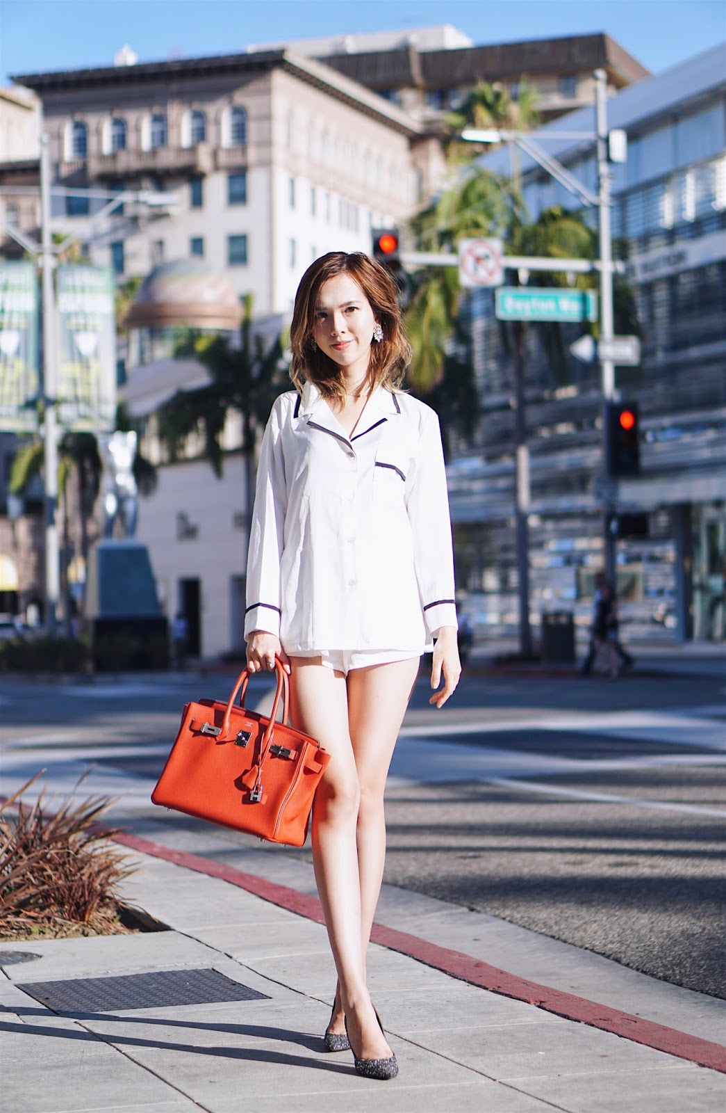 brand new arriving up-to-date styling Uyen Meow: Pajamas Street Style