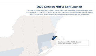 2020 Census map, Franklin is covered by the Quincy office