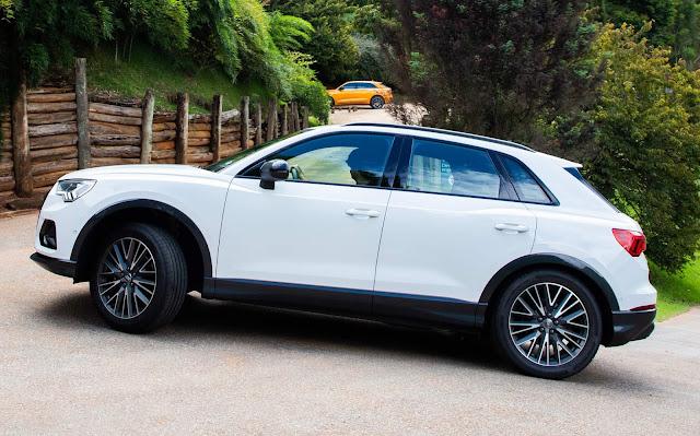 Novo Audi Q3 2020 (Brasil) - Branco