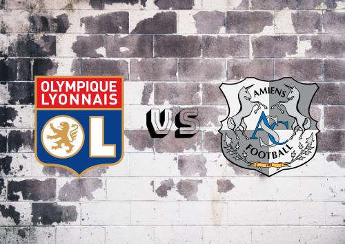 Olympique Lyonnais vs Amiens SC  Resumen