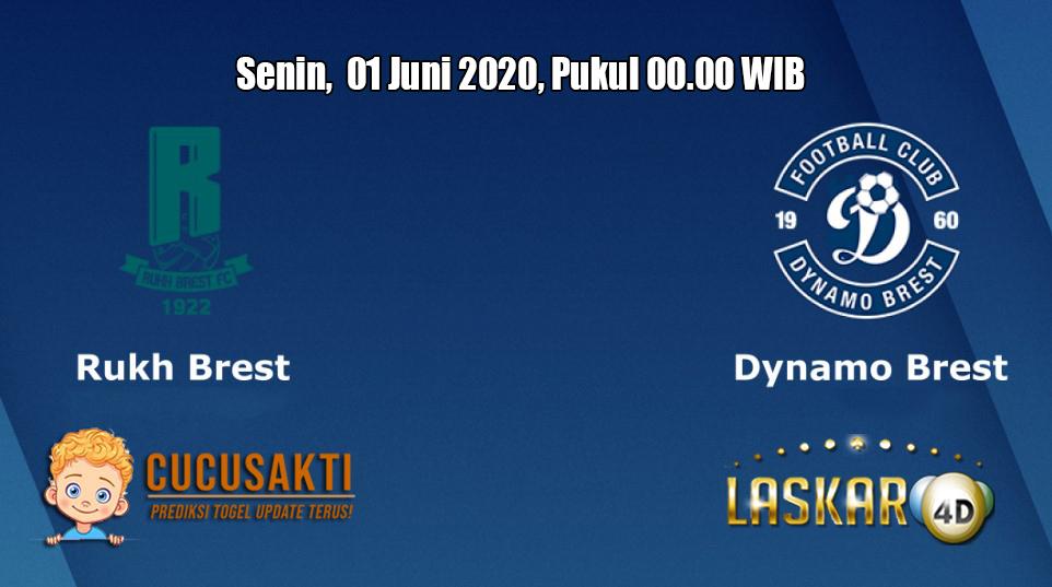 Prediksi Rukh Brest VS Dynamo Brest 1 Juni 2020