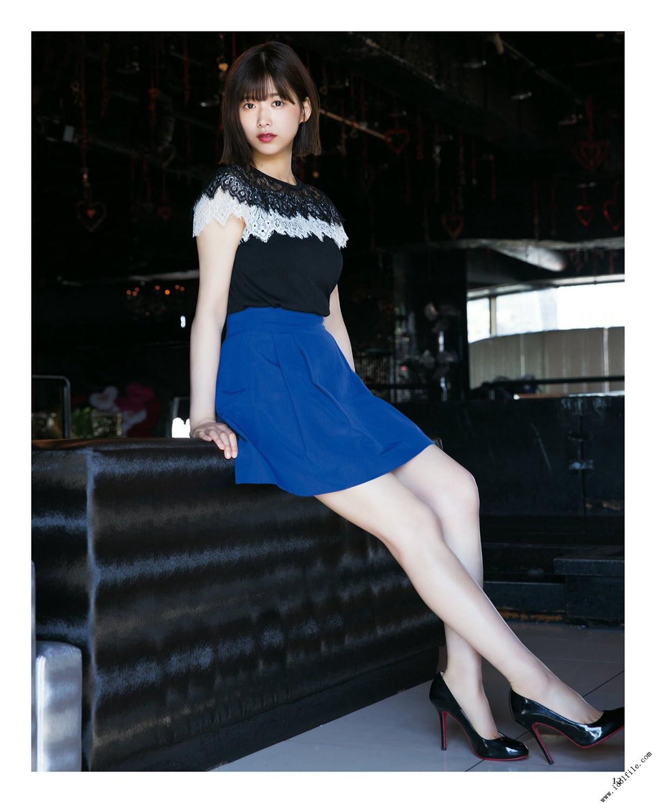 Watanabe Risa 渡邉理佐, Kobayashi Yui 小林由依, BUBKA 2018 No.04 (ブブカ 2018年4月号)
