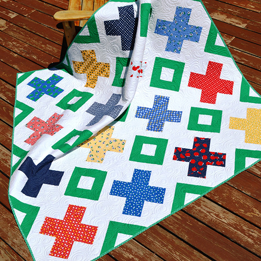 Criss Cross Applesauce Quilt Free Tutorial