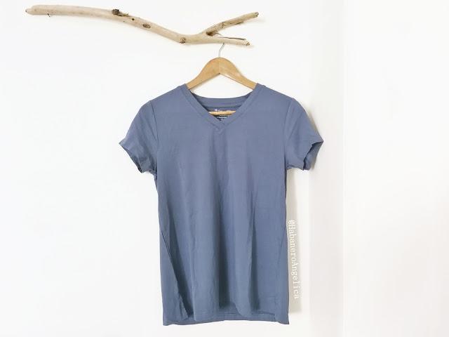 Maglietta T-shirt in cotone organico cotone biologico