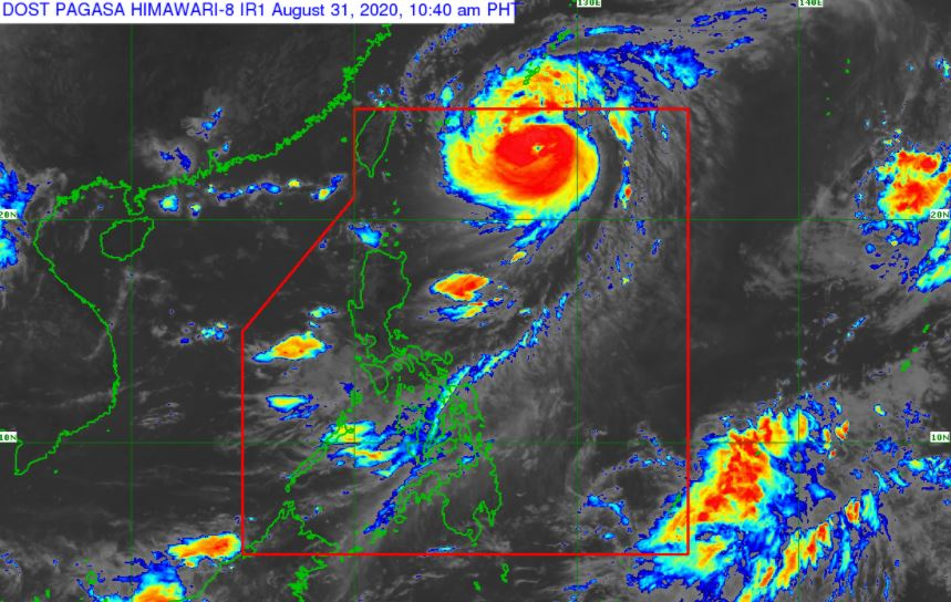 'Bagyong Julian' PAGASA weather update August 31, 2020