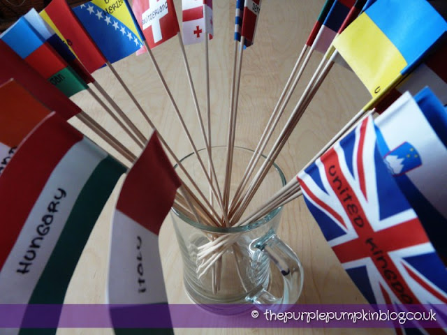 Eurovision Song Contest Party | The Purple Pumpkin Blog