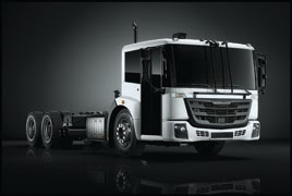 Freightliner EconicSD low cab chassis with optional passenger side fully glazed bi-fold door