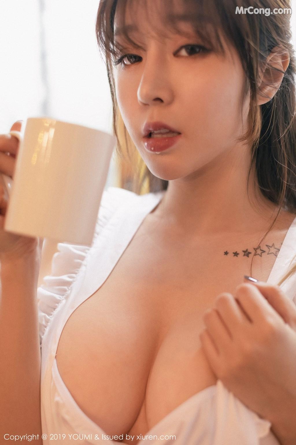 Image YouMi-Vol.295-Wang-Yu-Chun-MrCong.com-004 in post YouMi Vol.295: Wang Yu Chun (王雨纯) (49 ảnh)