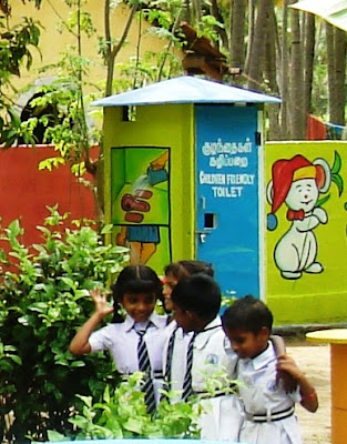 SEVAI Promotes child friendly toilets