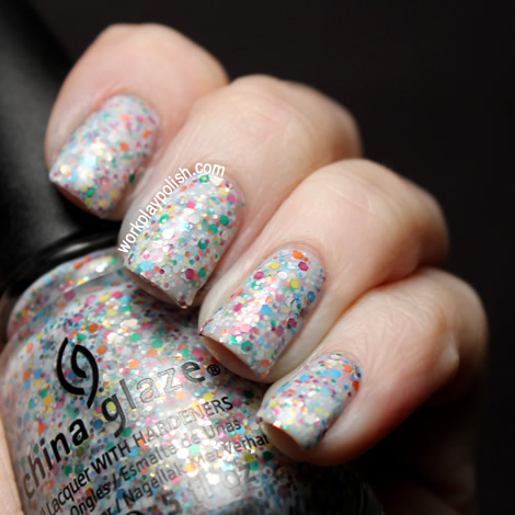 China Glaze Cirque Du Soleil: It's a Trapeze (work / play / polish)