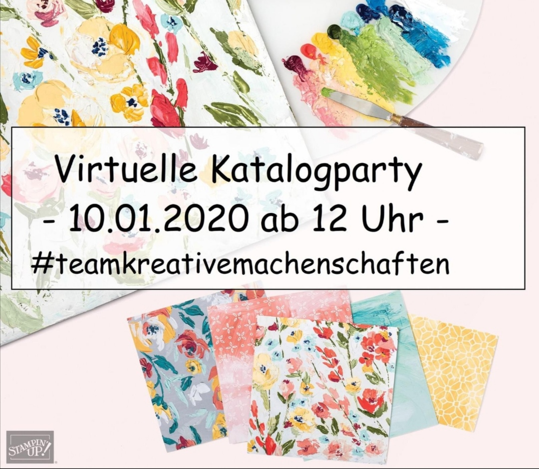 Virtuelle Katalogparty