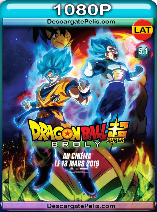 Dragon Ball Super Broly (2018) 1080P BRrip Latino – Japones
