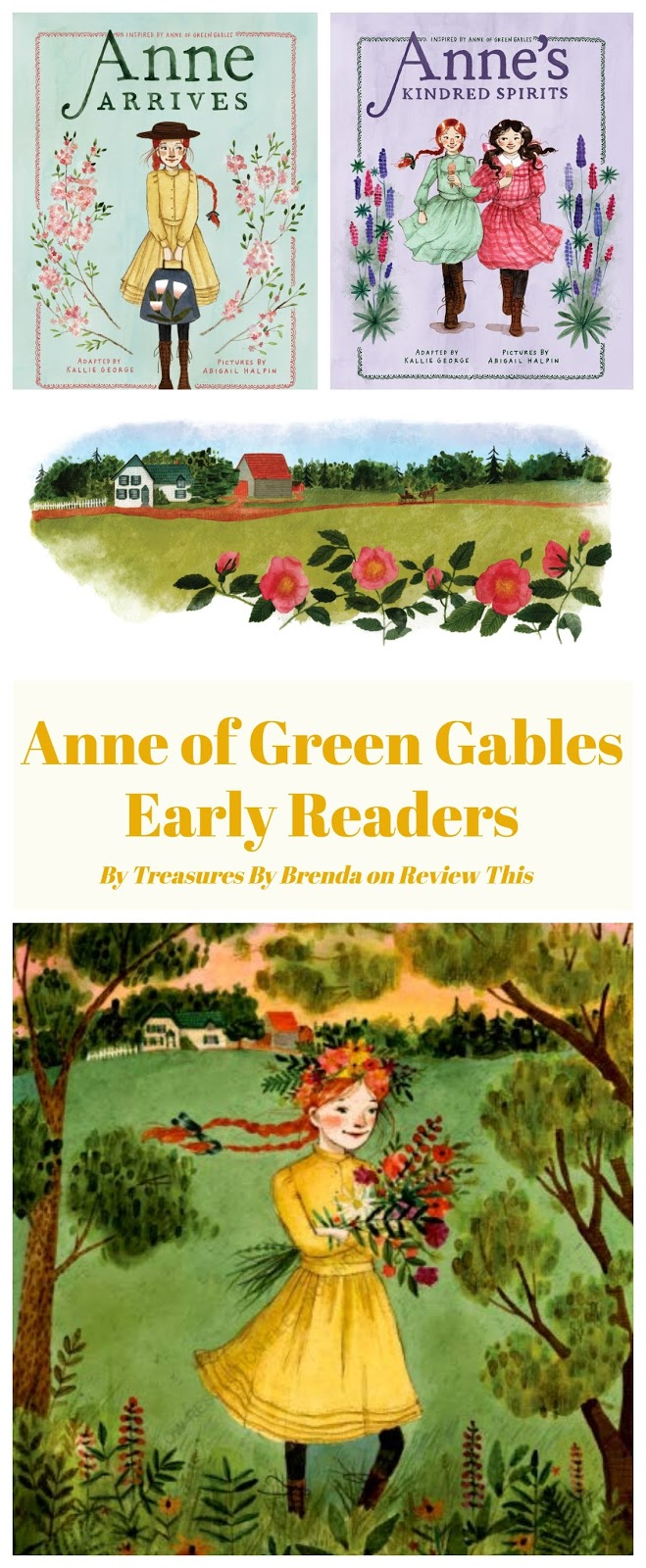 Anne of Green Gables Early Reader Books