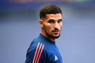 Real Madrid reportedly monitoring the situation of Lyon midfielder Houssem Aouar