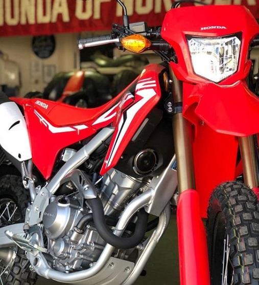 Suspensi Motor Honda CRF250R
