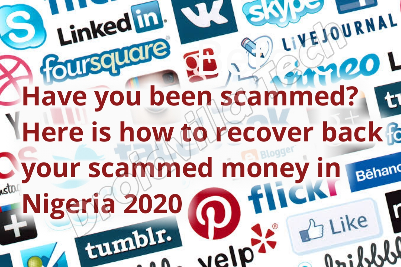 Recover scammed money Nigeria