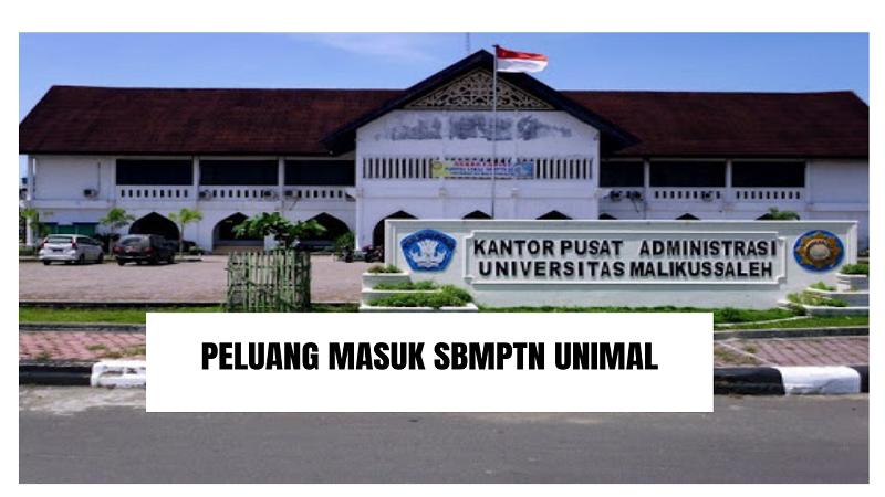 Peluang Masuk SBMPTN UNIMAL 2021/2022 (Universitas Malikussaleh)