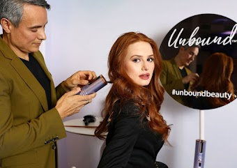 Madelaine Petsch Clicks at Conair's Unbound Curler Launch in New York 11 Nov-2019