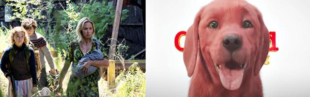 CINEMA: Confira as novas datas de estreia de 'Um Lugar Silencioso - Parte II' e 'Clifford: O Gigante Cão Vermelho'