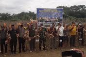 Forkopimda Aceh Singkil Panen Raya Jagung di Tanah Bara
