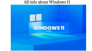 All info about Windows 11