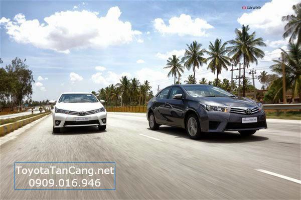 toyota corolla altis 2015 toyota tan cang 13 - Trải nghiệm Toyota Corolla Altis 2015: Tin cậy đến từng chi tiết - Muaxegiatot.vn