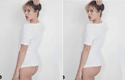 Paolla Oliveira mostra bumbum em foto provocante