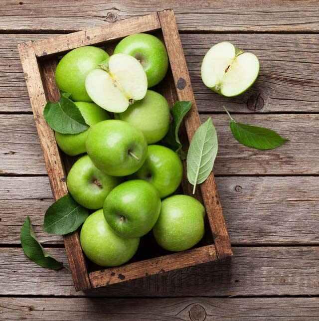 للتفاح الأخضر