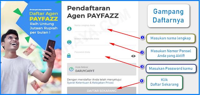 Cara Daftar Payfazz Gratis, Lengkap dengan Gambar!