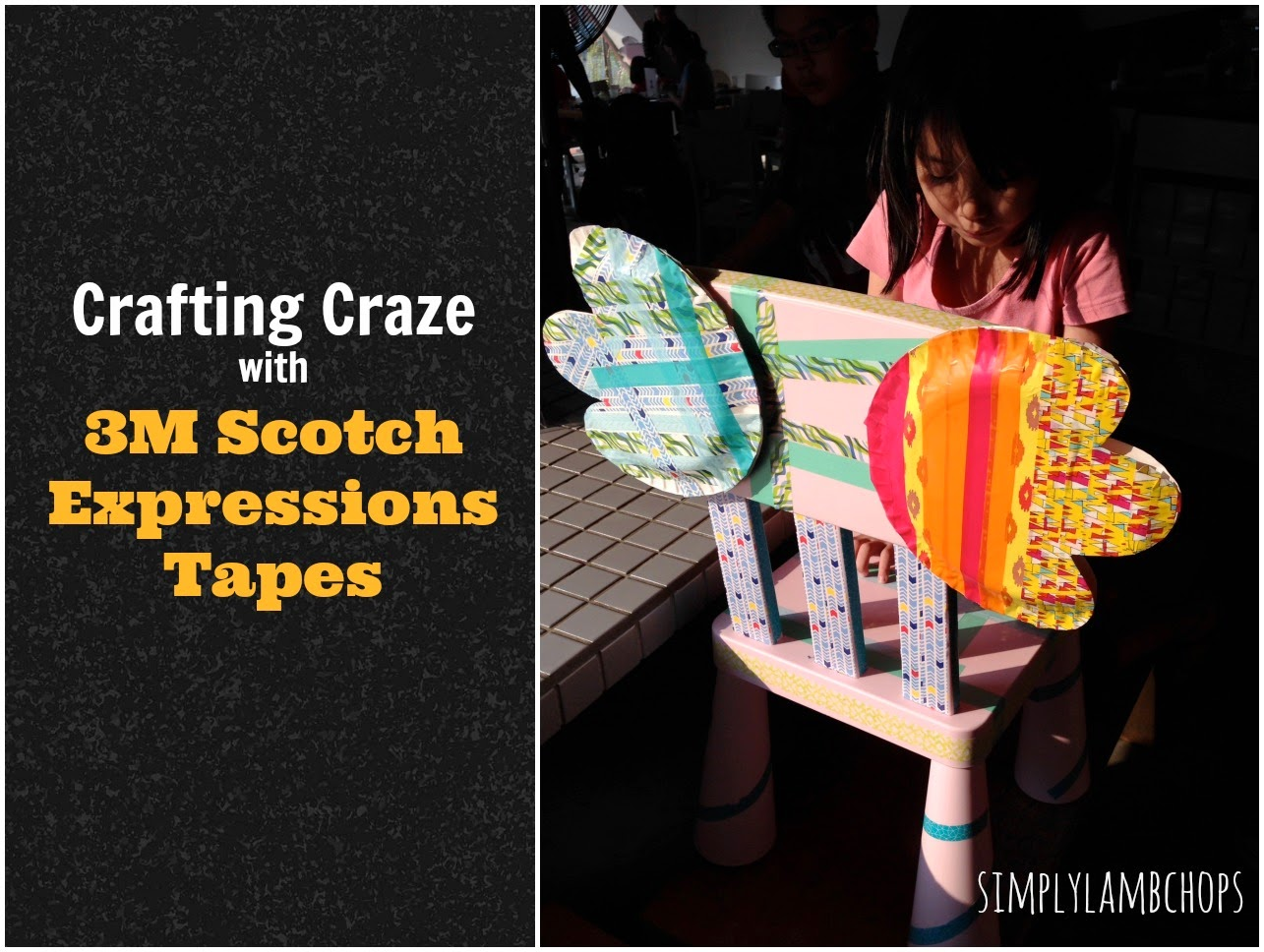 Crafting Craze with 3M Scotch Expressions Tapes review by Simply Lambchops