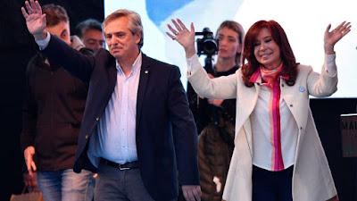 43,7% a 32,3%: Alberto y Cristina le ganan a Macri-Pichetto por más de 11 puntos