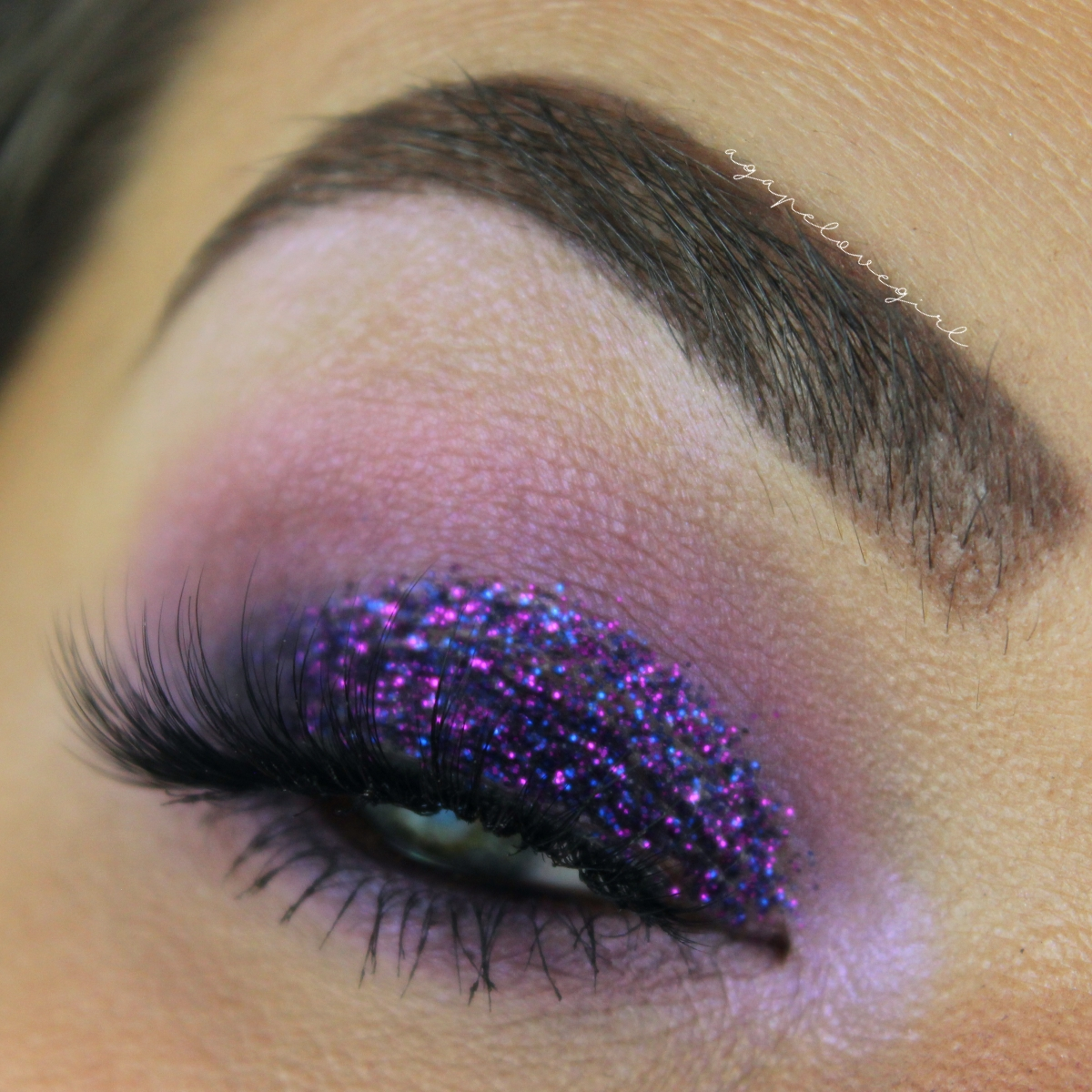 Agape Love Designs Urban Decay Distortion Palette Tutorial Purple