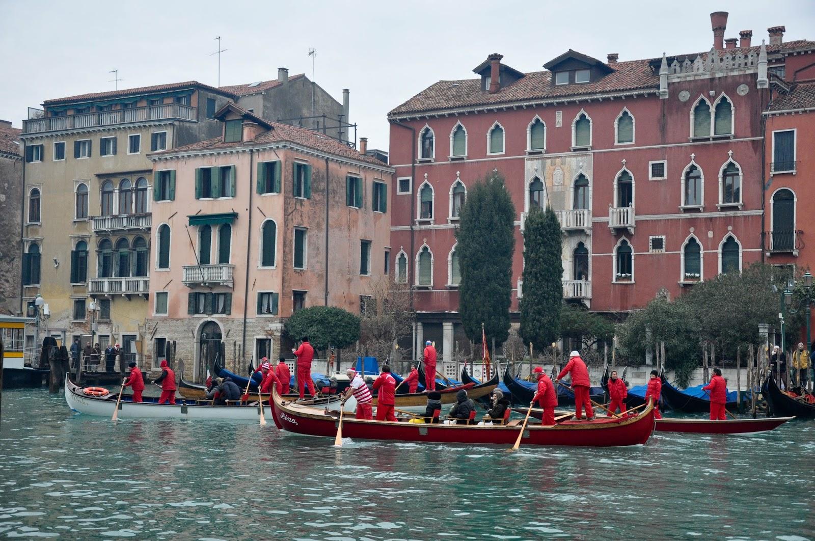 Befana race, Venice, Italy
