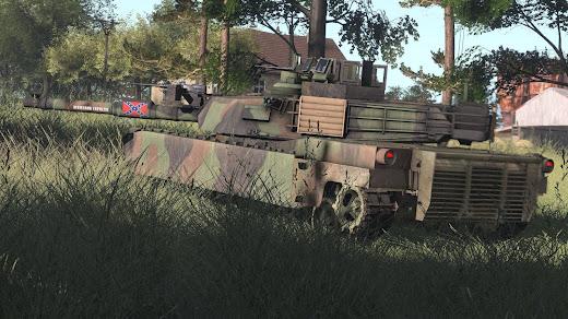 RHS: Escalation MODのM1A2 Abrams 主力戦車