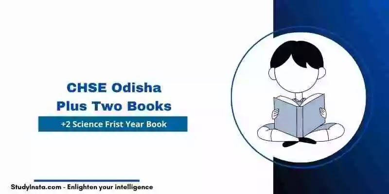 CHSE Odisha Plus two Science 1st Year Books PDF 2021, +2 Books