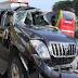 Kecelakaan Tunggal Mobil terjadi di Jalan Tol Medan-Tebingtinggi Diduga Akibat Ban Pecah dengan Kecepatan Tinggi.
