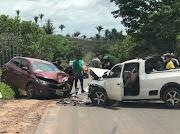 Acidente de carro deixa seis pessoas feridas na MA-119 entre Trizidela do Vale e Bernardo do Mearim