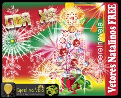 Baixe Vetores de Natal Corel Draw x6