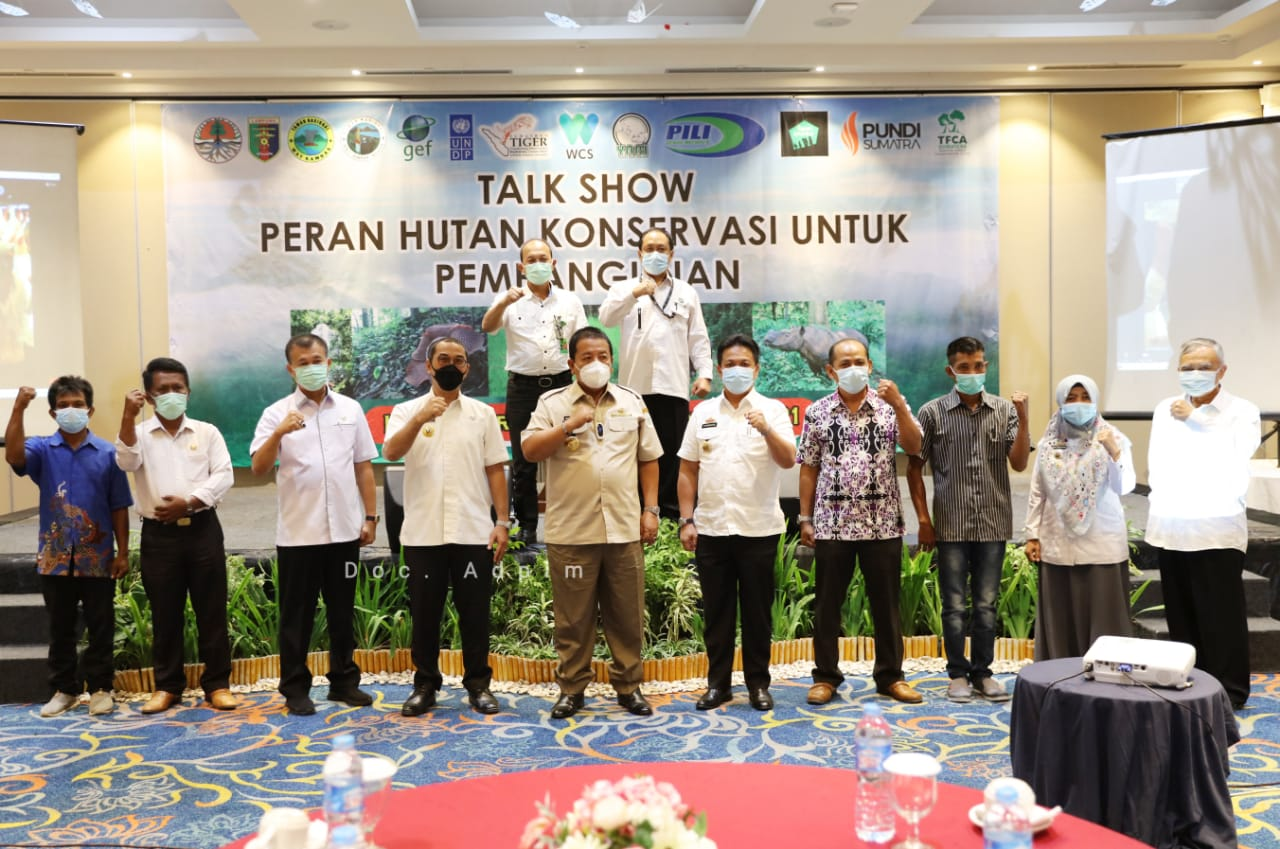 Soroti Pentingnya Pelestarian Hutan di Lampung, Gubernur Arinal Ajak Swasta dan Masyarakat Jaga Keanekaragaman Hayati  secara Berkelanjutan