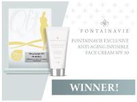 Fontainavie Exclusive Anti-Aging  Invisible Day Cream SPF 50 Meraih Penghargaan Tertinggi Qltowy Kosmetyk 2019