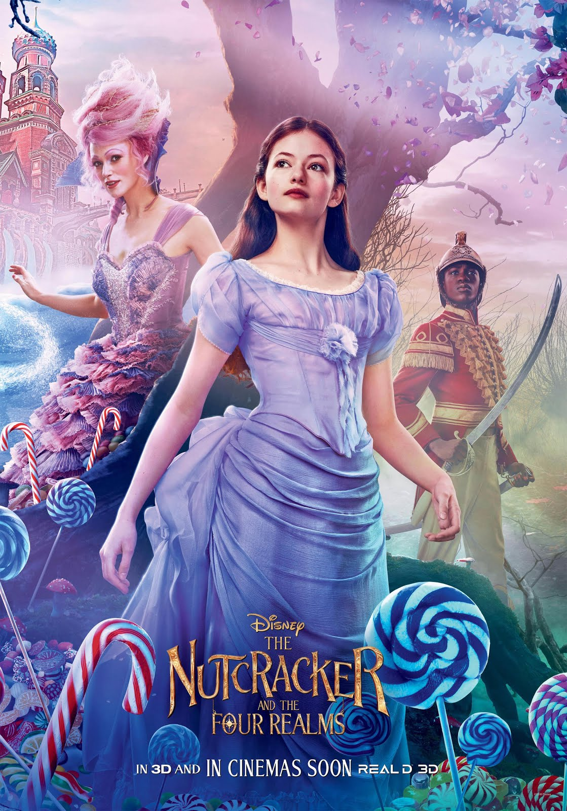 The Nutcracker and the Four Realms (2018) full hd Dual Audio [Hindi-English] BluRay 720p ESubs
