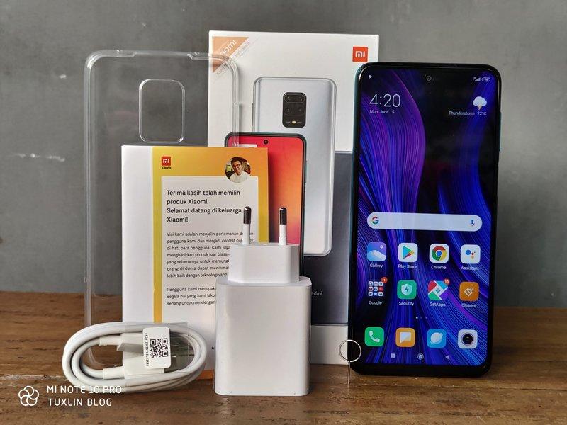 Paket Pembelian Xiaomi Redmi Note 9 Pro