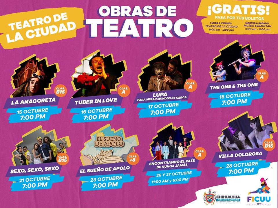 Teatro de la Ciudad FICUU 2019