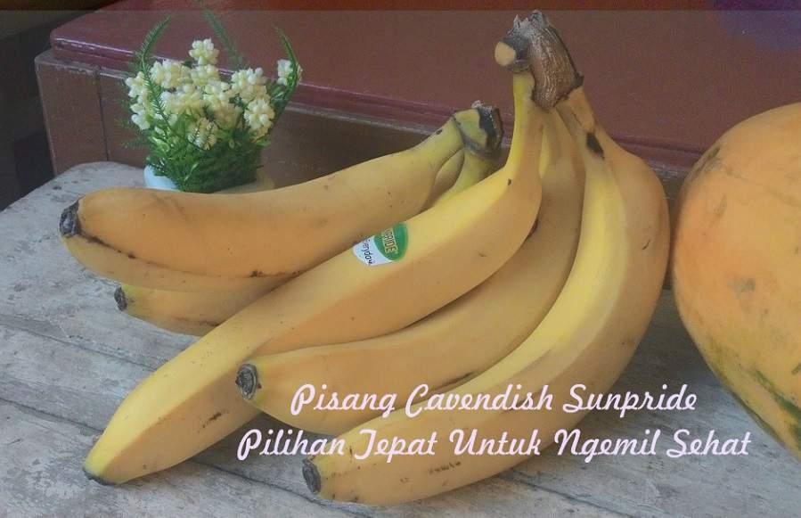 Pisang Cavendish Sunpride Pilihan Tepat Ngemil Sehat