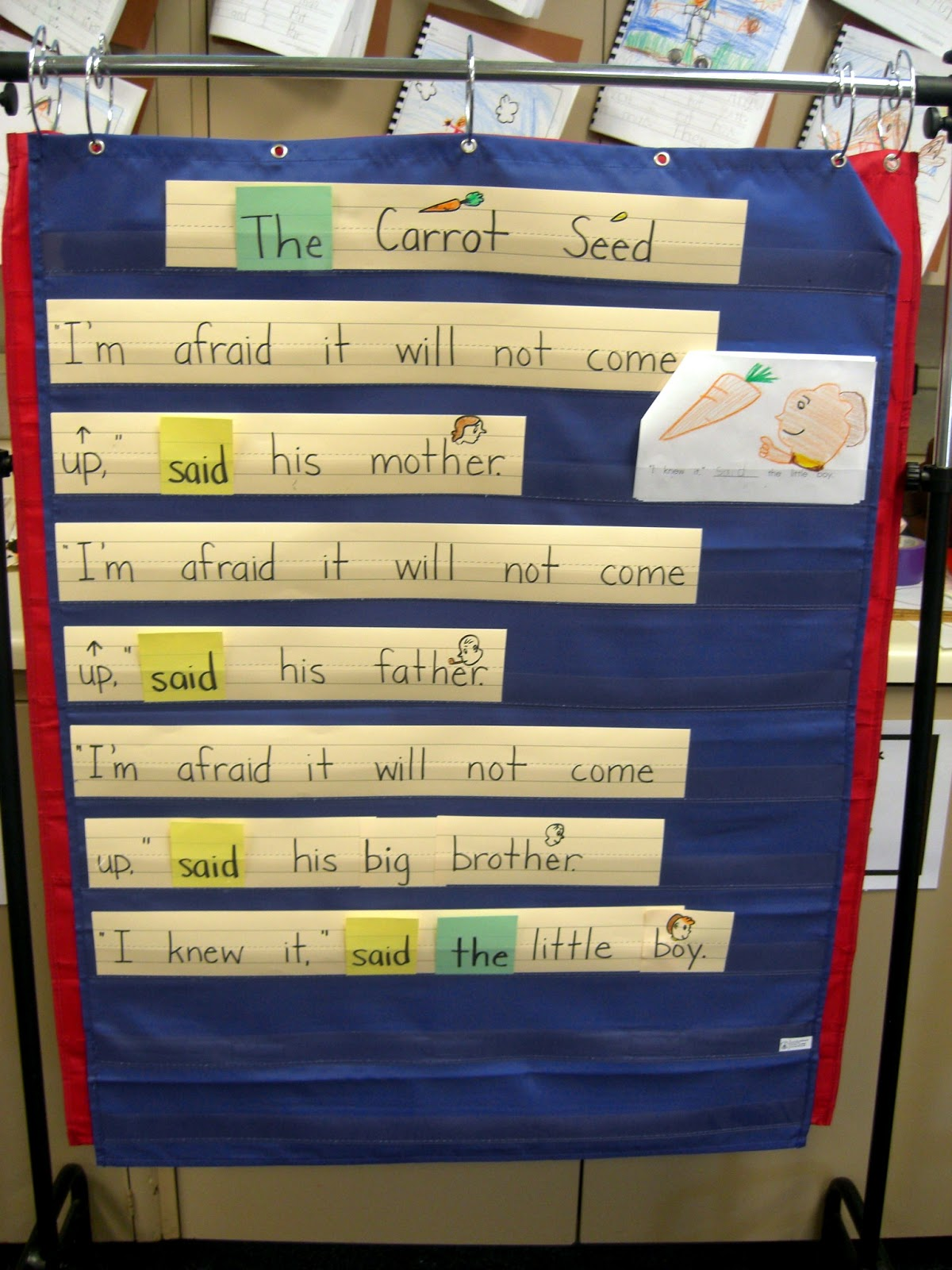 A Musings Of A First Year Teacher The Carrot Seed