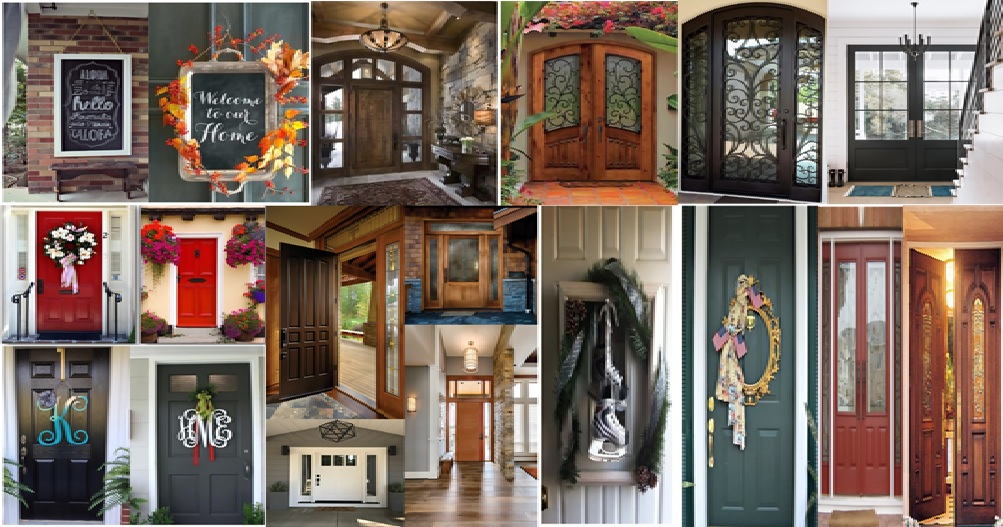 19 Creative Ways to Decor Front Door