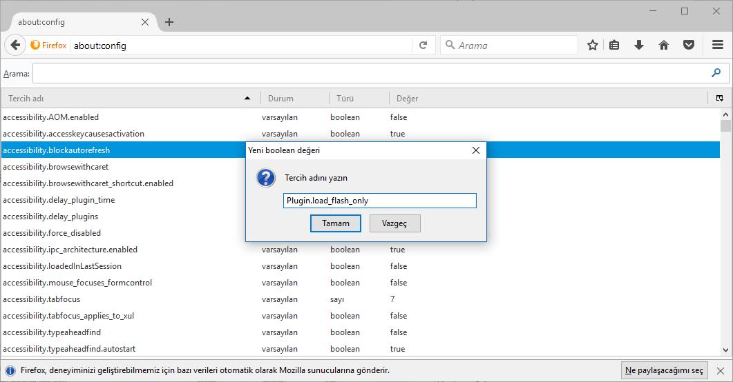 Firefox 52, NPAPI eklentileri desteği devre dışı bırakıldı