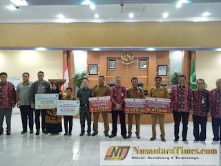 Pemkab Batanghari dan Bank Jambi Adakan 'Launching' Diseminasi Dana Desa dan KUR