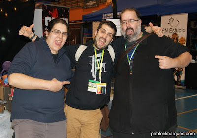 Lumi , Alfonso y Jason